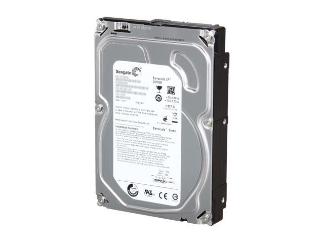 Seagate BarraCuda Green ST2000DL003 2TB 5900 RPM 64MB Cache SATA 6.0Gb/s 3.5