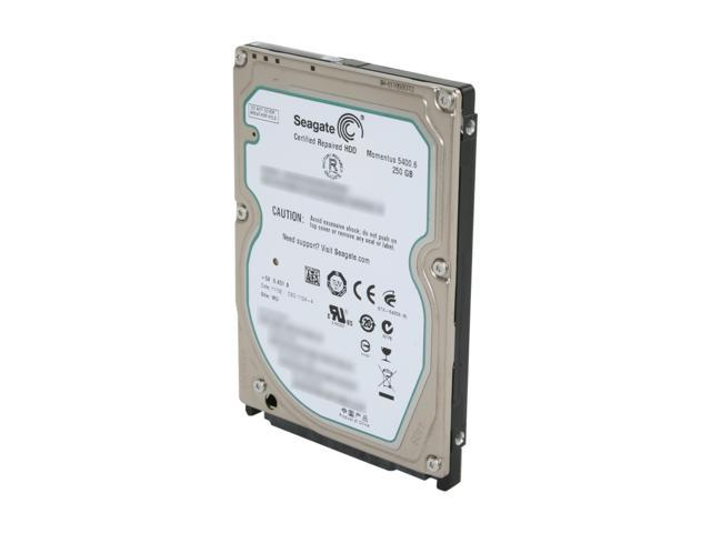 Seagate Momentus 5400.6 ST9250315AS 250GB 5400 RPM 8MB Cache SATA 3.0Gb/s 2.5