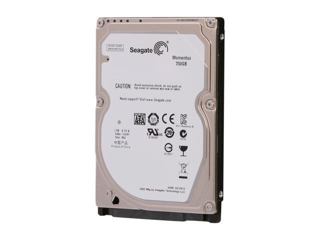 "Seagate Momentus ST9750423AS 750GB 5400 RPM 16MB Cache SATA 3.0Gb/s 2.5"" Internal Notebook Hard Drive"