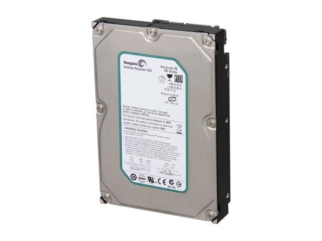 Seagate BarraCuda ES ST3750640NS 750GB 7200 RPM 16MB Cache SATA 3.0Gb/s 3.5