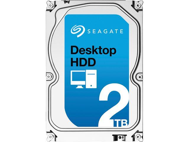 "Seagate Desktop HDD ST2000DM001 2TB 64MB Cache SATA 6.0Gb/s 3.5"" Internal Hard Drive Bare Drive"