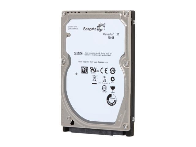 "Seagate Momentus XT ST750LX003 750GB 7200 RPM 32MB Cache SATA 6.0Gb/s 2.5"" Solid State Hybrid Drive Bare Drive"