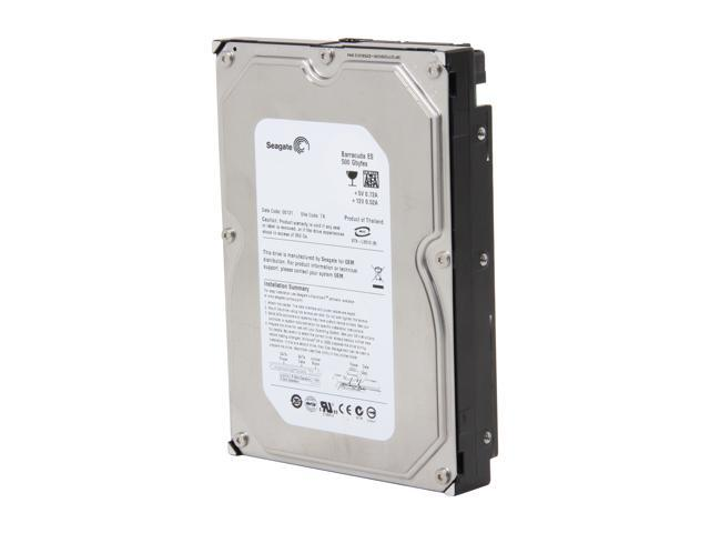 "Seagate Barracuda ES ST3500630NS 500GB 7200 RPM 16MB Cache SATA 3.0Gb/s 3.5"" Hard Drive Bare Drive"