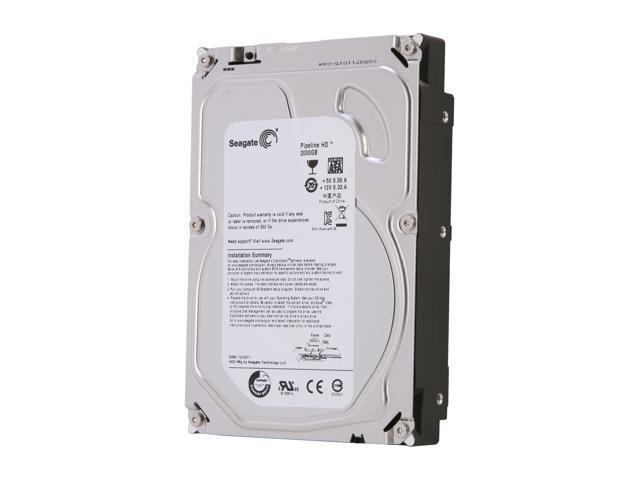 """Seagate Pipeline HD ST2000VM002 2TB 5900 RPM 64MB Cache SATA 3.0Gb/s 3.5"""" Internal Hard Drive Bare Drive"""