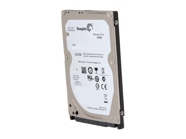 "Seagate Momentus Thin ST320LT020 320GB 5400 RPM 16MB Cache SATA 3.0Gb/s 2.5"" Internal Notebook Hard Drive Bare Drive"