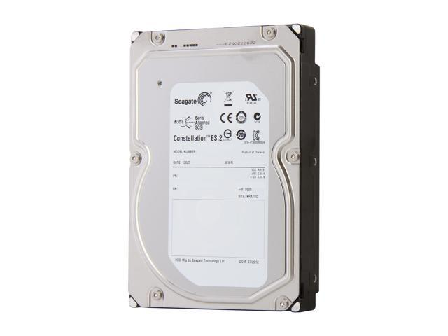 "Seagate Constellation ES.2 ST32000646SS 2TB 7200 RPM 64MB Cache SAS 6Gb/s 3.5"" Internal Hard Drive Bare Drive"