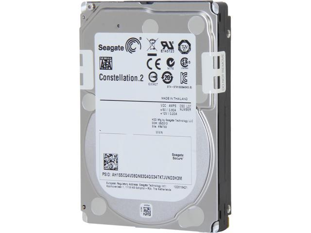 "Seagate Constellation.2 ST9500622NS 500GB 7200 RPM 64MB Cache SATA 6.0Gb/s 2.5"" Internal Enterprise Hard Drive Bare Drive"