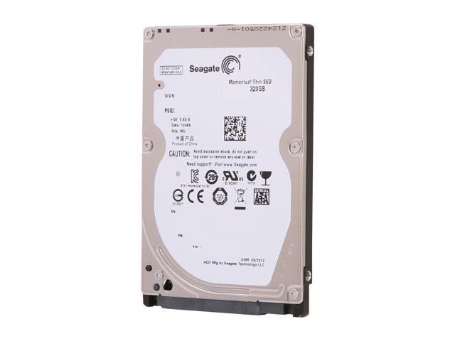 "Seagate Momentus Thin ST320LT014 320GB 7200 RPM 16MB Cache SATA 3.0Gb/s 2.5"" Internal Notebook Hard Drive Bare Drive"