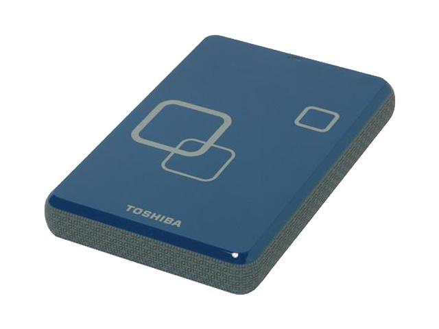 "TOSHIBA Canvio Plus 750GB USB 2.0 2.5"" Portable Hard Drive Liquid Blue"