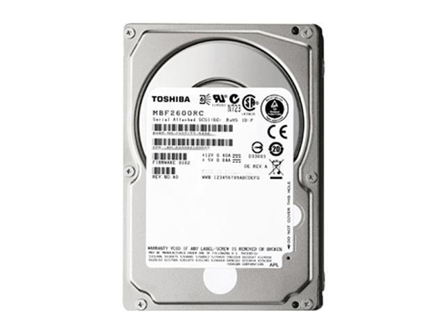 "TOSHIBA MBF2300RC-40PK 300GB 10000 RPM 16MB Cache SATA 6.0Gb/s 2.5"" Enterprise Internal Hard Drive - 40 Pack"