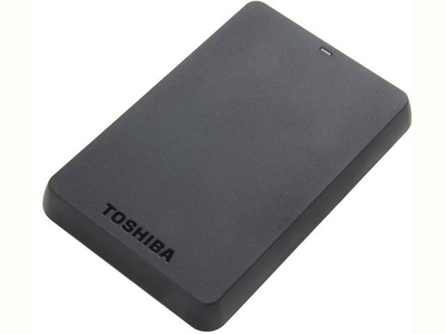 TOSHIBA 1TB Canvio Basics 3.0 Portable Hard Drive USB 3.0 Model HDTB110XK3BA Black