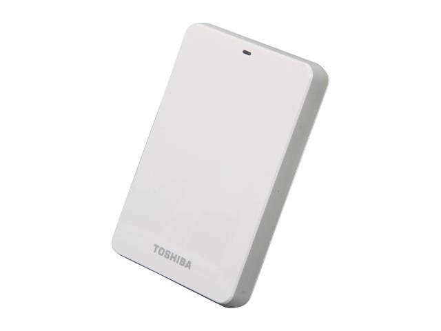 TOSHIBA 1TB Canvio 3.0 Portable Hard Drive USB 3.0 Model HDTC610XW3B1 White