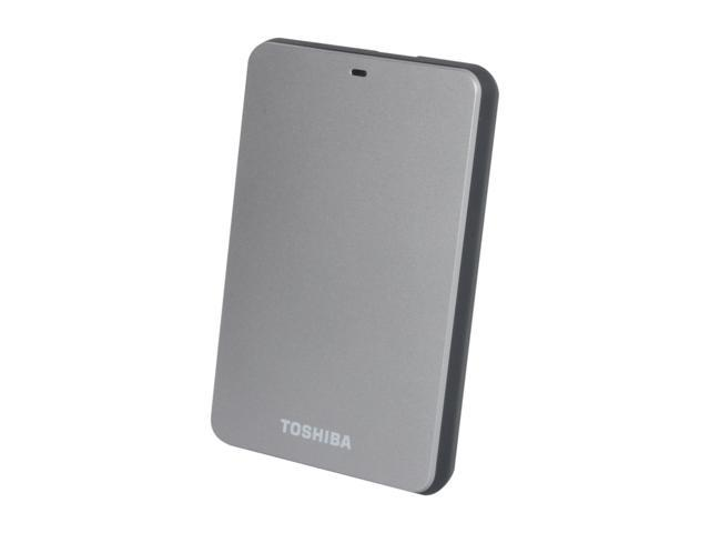 TOSHIBA 500GB Canvio 3.0 Portable Hard Drive USB 3.0 Model HDTC605XS3A1 Silver