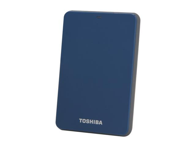 TOSHIBA 500GB Canvio 3.0 Portable Hard Drive USB 3.0 Model HDTC605XL3A1 Blue