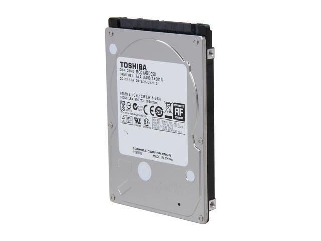 "TOSHIBA MQ01ABD050 500GB 5400 RPM 8MB Cache SATA 3.0Gb/s 2.5"" Internal Notebook Hard Drive Bare Drive"