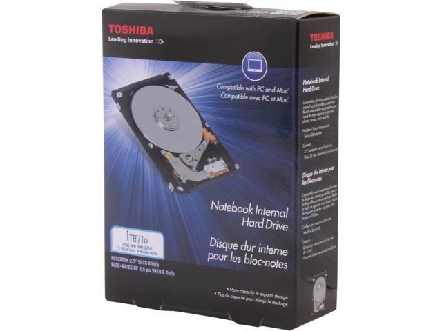 TOSHIBA PH2100U-1I54 1TB 5400 RPM 8MB Cache SATA 3.0Gb/s 2.5