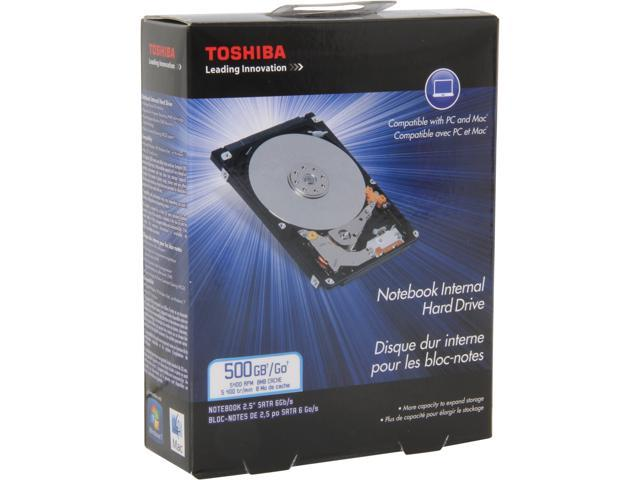 TOSHIBA PH2050U-1I54 500GB 5400 RPM 8MB Cache SATA 3.0Gb/s 2.5