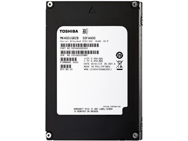 "TOSHIBA Product Series:MKx001GRZB MK4001GRZB 2.5"" Internal Notebook Hard Drive"