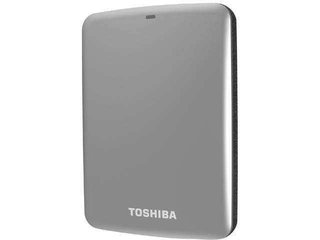 TOSHIBA 1TB Canvio Connect External Hard Drive USB 3.0 Model HDTC710XS3A1 Silver