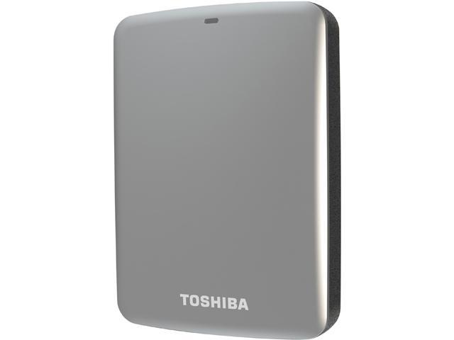 TOSHIBA 1.5TB Canvio Connect External Hard Drive USB 3.0 Model HDTC715XS3C1 Silver