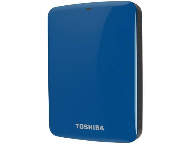 TOSHIBA 2TB Canvio Connect External Hard Drive USB 3.0 Model HDTC720XL3C1 Blue