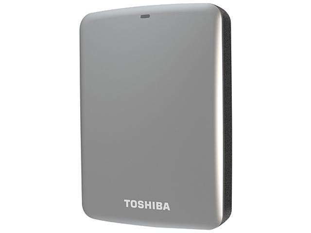 TOSHIBA 2TB Canvio Connect External Hard Drive USB 3.0 Model HDTC720XS3C1 Silver