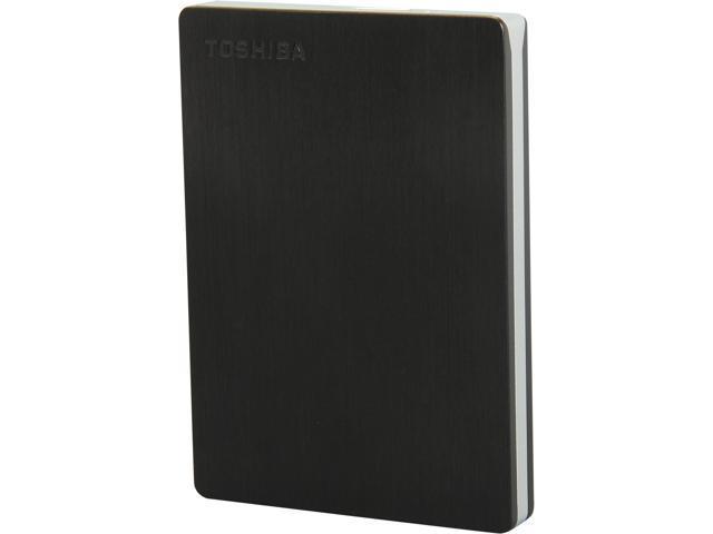 TOSHIBA 1TB Canvio Slim II Portable External Hard Drive for PCs USB 3.0 Model HDTD210XK3E1 Black