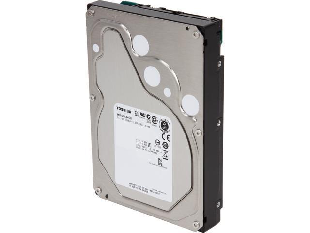 TOSHIBA MG03SCA400 4TB 7200 RPM 64MB Cache SAS 6Gb/s 3.5