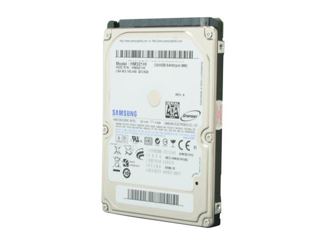 "SAMSUNG Spinpoint M7E HM321HI 320GB 5400 RPM 8MB Cache SATA 3.0Gb/s 2.5"" Internal Notebook Hard Drive Bare Drive"