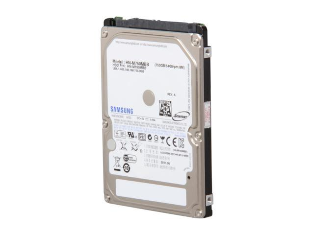 Seagate Samsung Spinpoint M8 ST750LM022(HN-M750MBB) 750GB 5400 RPM 8MB Cache SATA 3.0Gb/s 2.5
