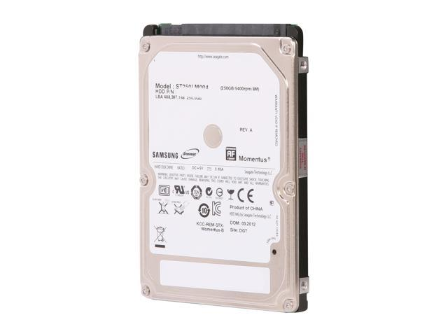 "SAMSUNG Spinpoint M8 ST250LM004 250GB 5400 RPM 8MB Cache SATA 3.0Gb/s 2.5"" Internal Notebook Hard Drive Bare Drive"