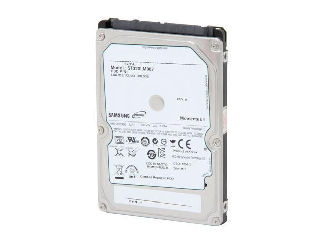 """Seagate/SUMSUNG Spinpoint MP4 ST320LM007 / HM320HJ 320GB 7200 RPM 16MB Cache SATA 3.0Gb/s 2.5"""" Internal Notebook Hard Drive ..."""