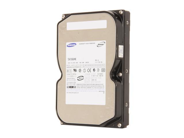 "SAMSUNG SV1604E 160GB 5400 RPM 2MB Cache IDE Ultra ATA133 / ATA-7 3.5"" Internal Hard Drive Bare Drive"