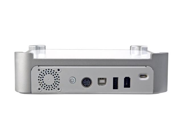 "LACIE mini Hub 250GB 7200 RPM 3.5"" USB 2.0 / IEEE 1394a External Hard Drive Model 301039U"