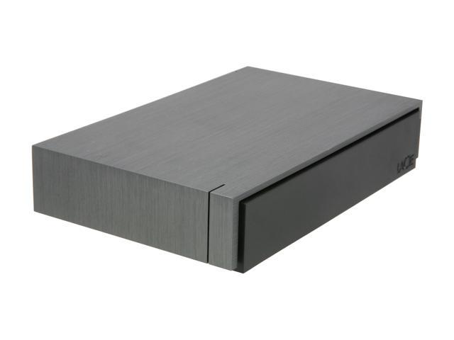 "LaCie Porsche Design P'9230 2TB USB 3.0 3.5"" Desktop External Hard Drive Gray"