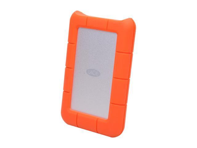 LaCie 500GB Rugged Mini External Hard Drive USB 3.0 Model 301555 Orange