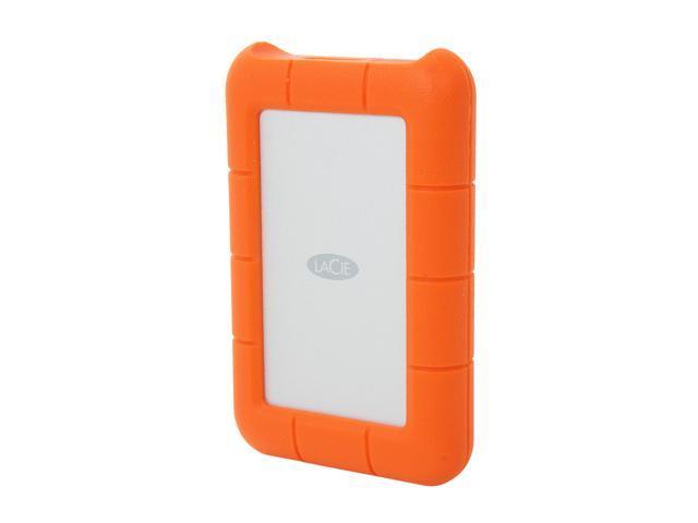 LaCie 1.5TB Rugged Mini External Hard Drive USB 3.0 Model LAC9000193 Orange