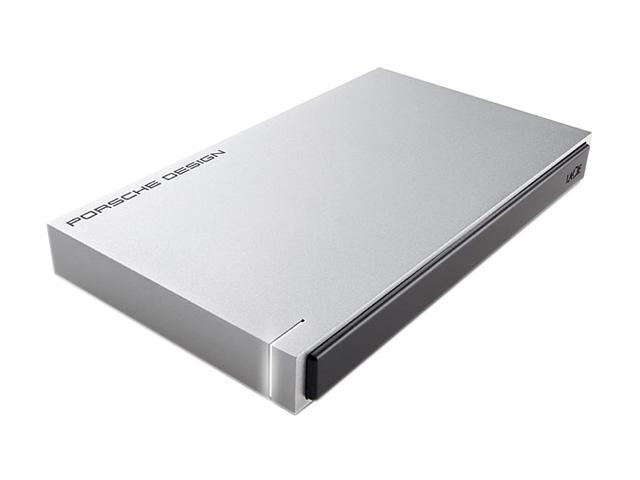 """LACIE 500GB 5400 RPM 2.5"""" USB 3.0 Porsche Design P'9223 Mobile Drive Model 9000322"""