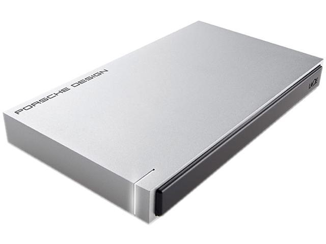 LACIE 1TB USB 3.0 Porsche Design Mobile Drive for Mac Model LAC9000293