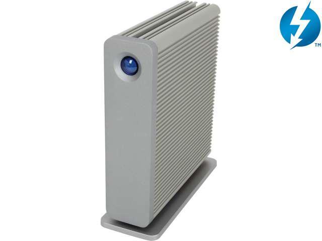 LaCie d2 4TB USB 3.0 / Thunderbolt External Hard Drive 9000303 Silver