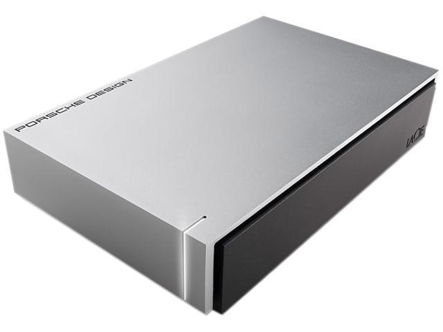 """LACIE 4TB 3.5"""" USB 3.0 Porsche Design P'9233 Desktop Drive Model LAC9000385"""