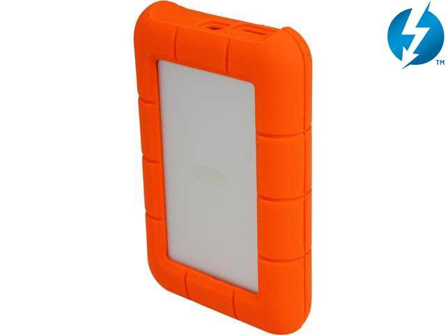 LaCie External Hard Drive Orange Model 9000299