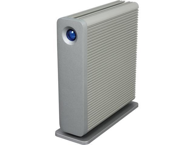LaCie d2 Quadra USB 3.0 5TB USB 3.0 / 2 x Firewire800 / eSATA External Hard Drive LAC9000481U Silver