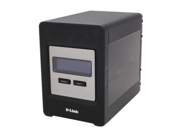 D-Link DNS-343 4-Bay Network Storage Enclosure