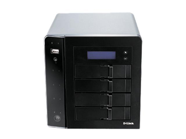 D-Link DNS-1250-04 ShareCenter Pro 1250 - 4-bay NAS/iSCSI Unified Storage