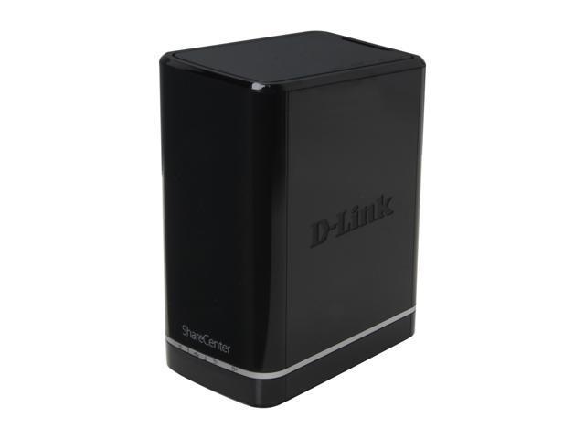 D-Link DNS-320L Diskless System ShareCenter 2-Bay Cloud Storage 2000