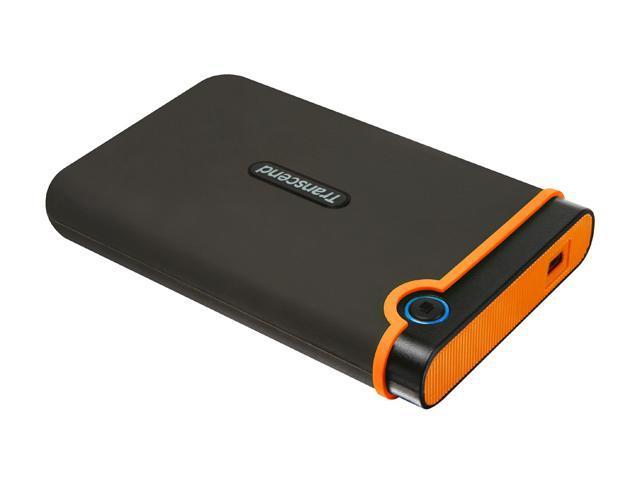 Transcend 500GB StoreJet External Hard Drive USB 2.0 Model 25M2