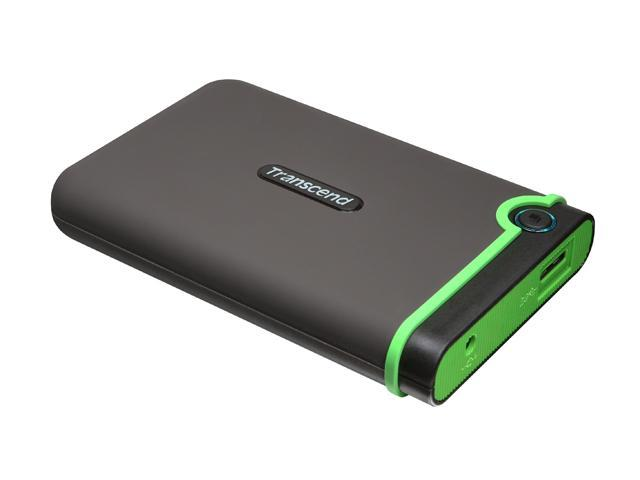Transcend 500GB StoreJet External Hard Drive USB 3.0 Model TS500GSJ25M3