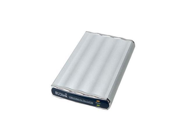 BUSlink 160GB Disk-On-The-Go External Slim Drive USB 2.0 Model DL-160-U2