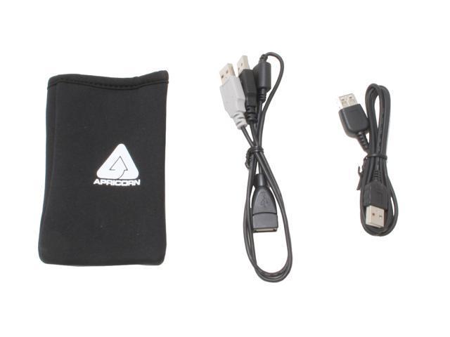 Apricorn Aegis Portable A25-USB-120, 120 GB Portable External Hard Drive